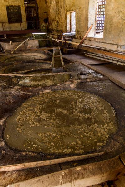 Kochbottiche, Rumherstellung