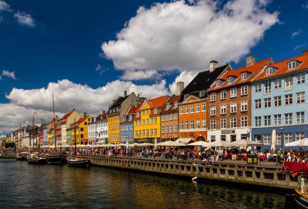 Nyhavn, Kopenhagen, Dänemark