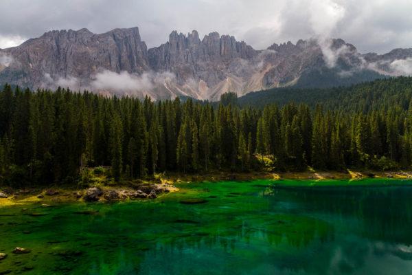 Karersee, Dolomiten, Südtirol, Italien