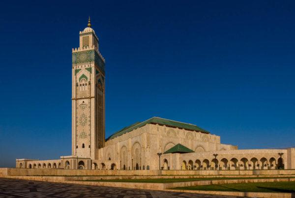 Hassan II. Moschee, Casablanca, Marokko