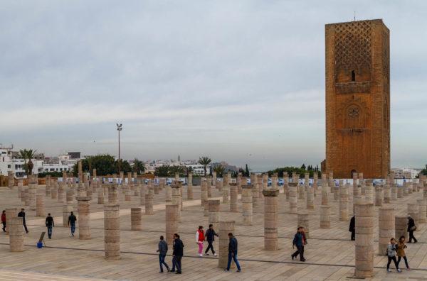 Moschee, Rabat, Marokko