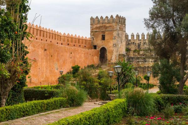Kasbah, Rabat, Marokko