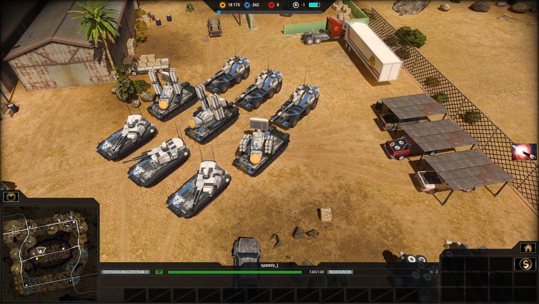 """Die """"leichten"""" Panzer der Chimera"""
