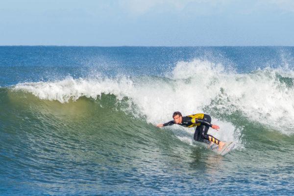 Surfer, Sommerstrand