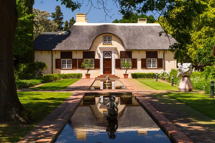Weingut, Südafrika