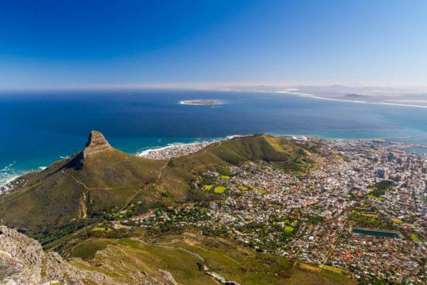 Tafelberg, Signal Hill, Kapstadt, Südafrika