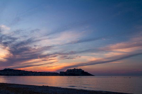 Calvi, Korsika, Abend