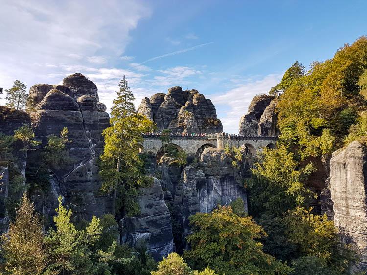 Bastei Elbsandsteingebirge Sächsische Schweiz