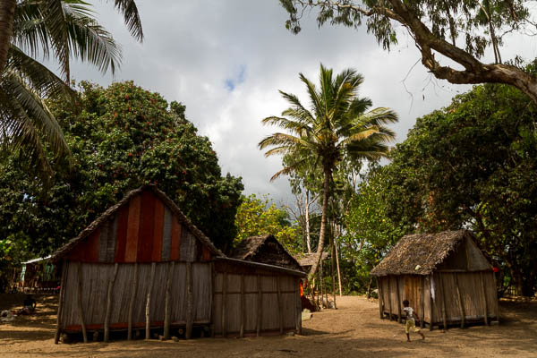 Madagaskar, Dort, Hütte
