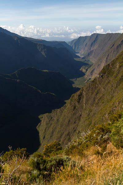 La Reunion, Vulkan, Krater