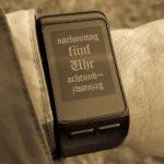 Deutsches Chronometer – ein selbstgemachtes Watchface
