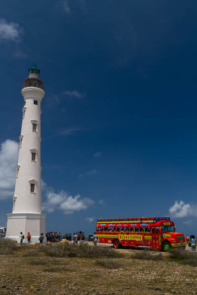 Leuchtturm im Norden Arubas