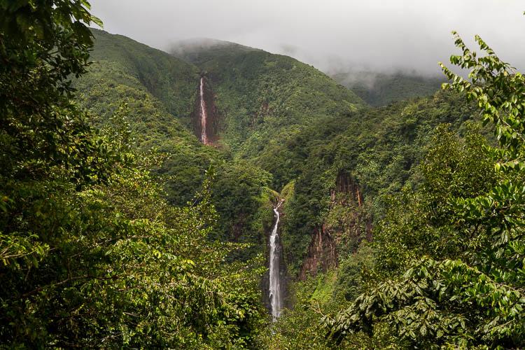 Guadeloupe Wasserfälle