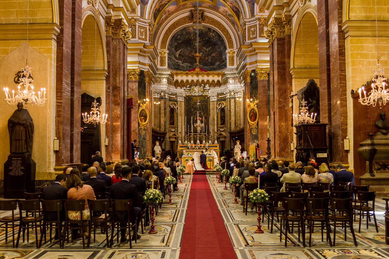 Hochzeit, Mdina, Malta