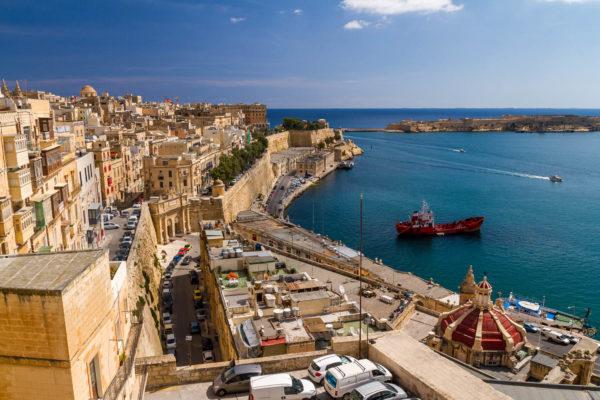 Valetta, Malta, Hafen