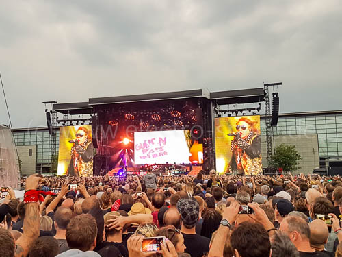Guns N Roses In Hannover Electro Space