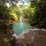 Touristenattraktion: Wasserfälle von Ocho Rios