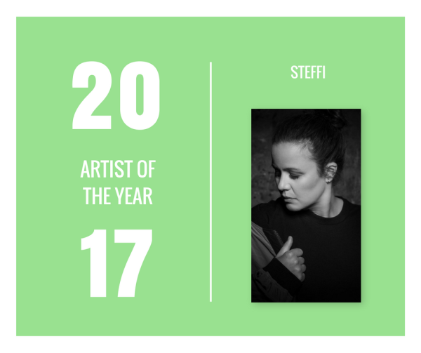 Jahresrückblick 2017 - Artist of the year