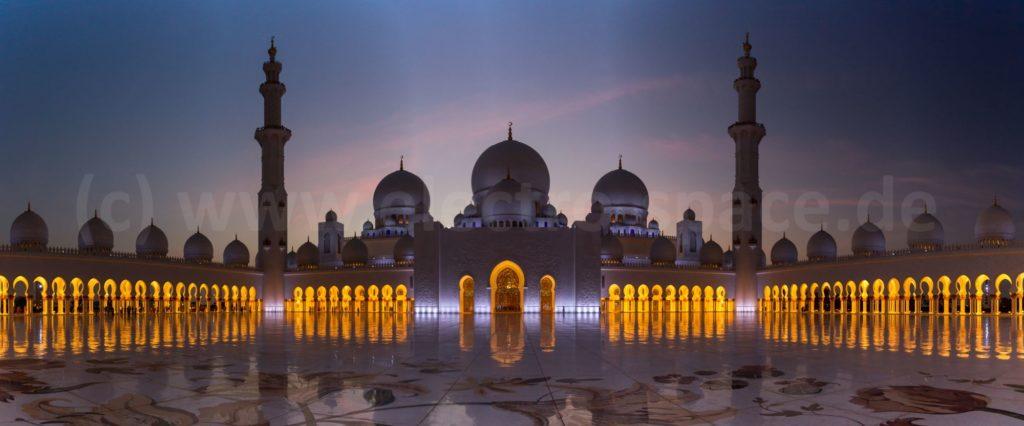 Schein Zayed Moschee, Abu Dhabi