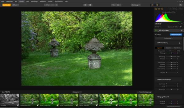 Luminar 2018 - Bildbearbeitung