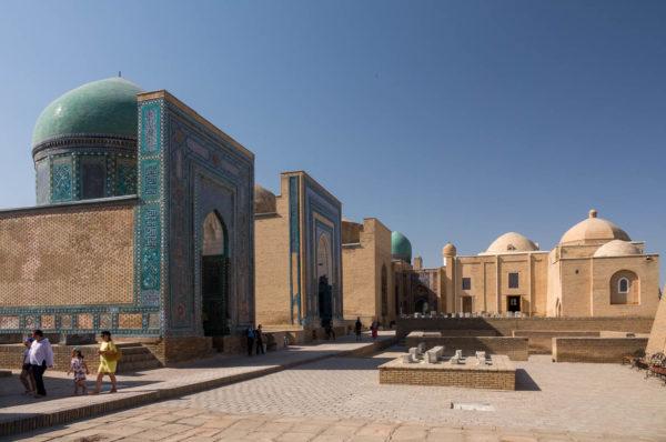 Grabstraße, Samarkand