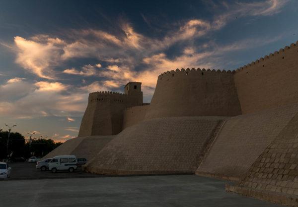 Stadtmauer, Khiva