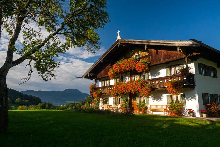 Bauernhaus am Tegernsee
