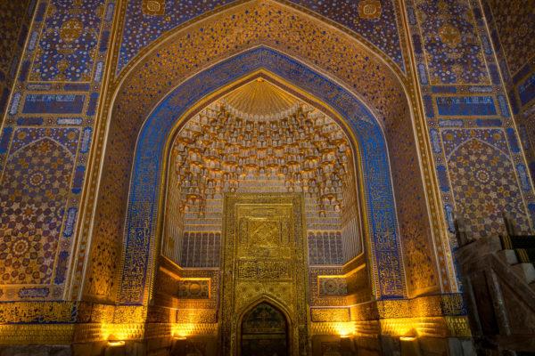 Usbekistan, Samarkand, Registan