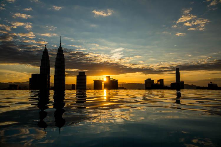 Kuala Lumpur, Sonnenaufgang