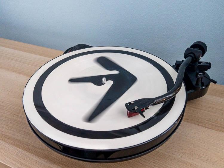 Plattenspieler, Aphex Twin