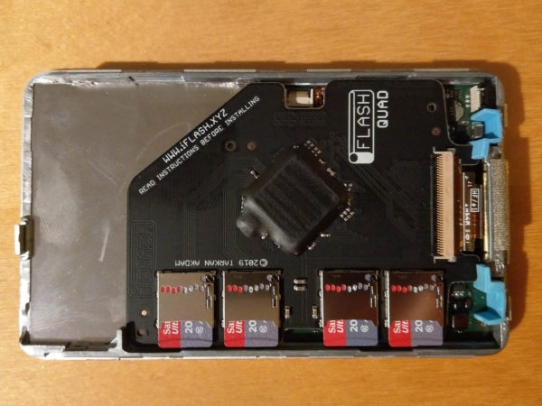 iPod classic, SD Card