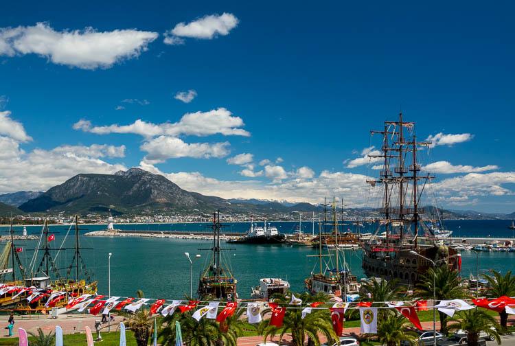 Alanya, Hafen, Türkei