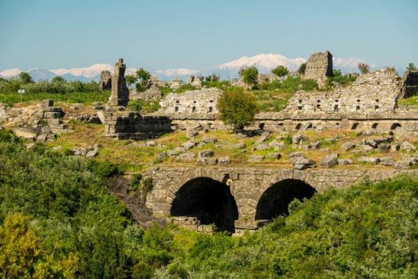 Aspendos, Türkei