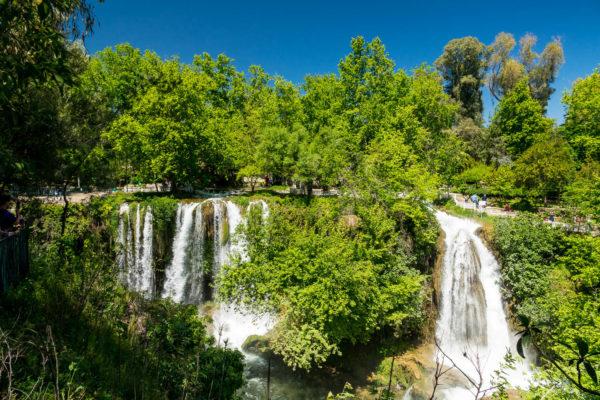Düden, Antalya, Türkei, Wasserfall