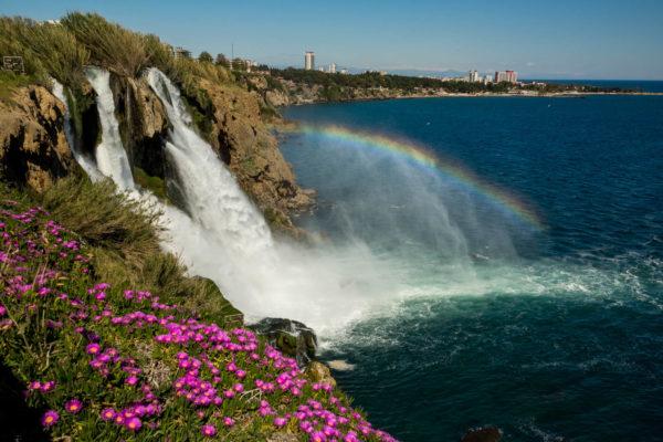 Düden, Antalya, Wasserfall, Türkei