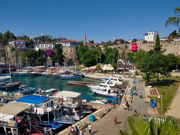 Antalya, Zentrum