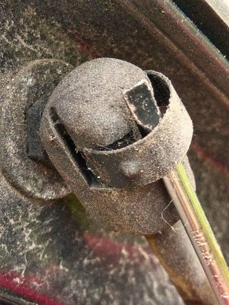 Halterung, Gasdruckfeder, Skoda Octavia