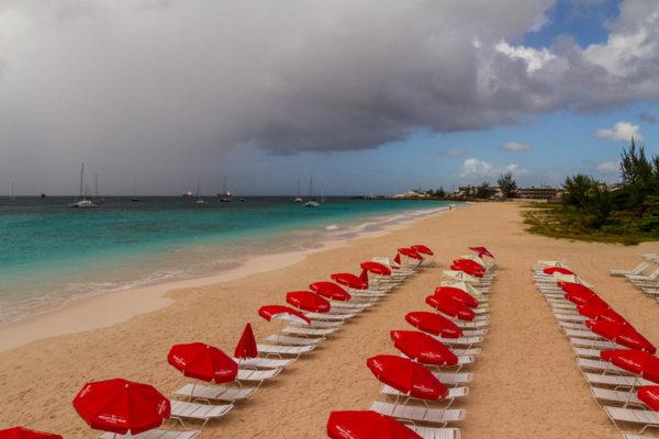 Barbados, Regen, Strand