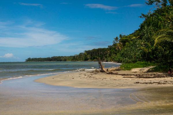 Flußmündung, Cahuita Nationalpark, Costa Rica