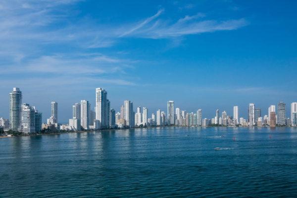 Cartagena, Kolumbien, Hochhäuser