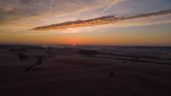 DJI Mavic Air, Sonnenaufgang