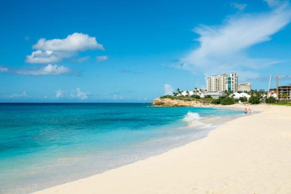 Mullet Bay, St. Maarten, Strand