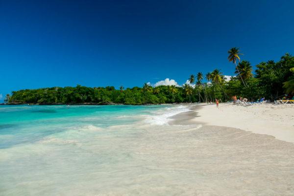 Dominikanische Republik, Playa Playita, Palmen, Strand