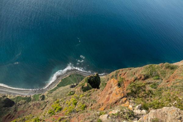 Cabo Girao, Klippe, Meer, Madeira