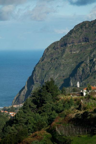 Nordküste, Madeira, Klippe, Kirche