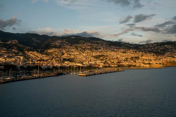Funchal, Maderia, Sonnenuntergang