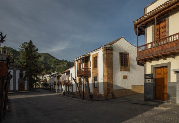 Teror, Gran Canaria, Häuser