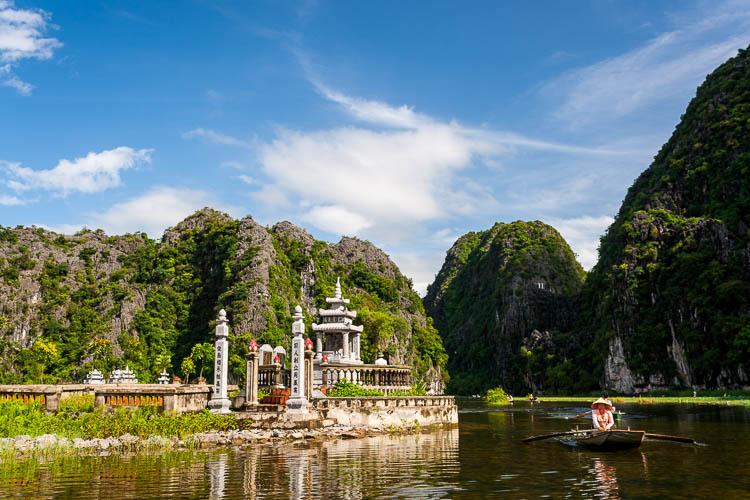 Ninh Binh, Tam Coc, Vietnam