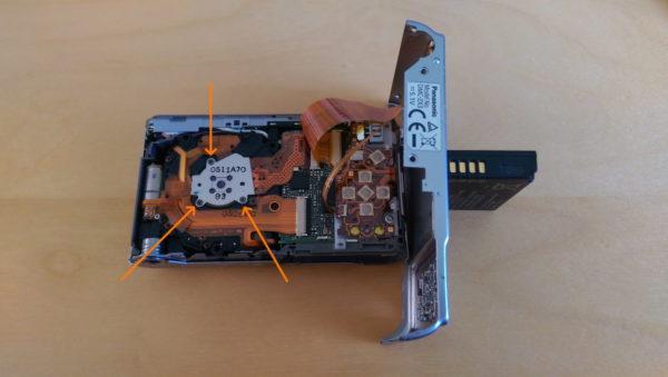 Lumix DMC-ZX3, Sensor lösen