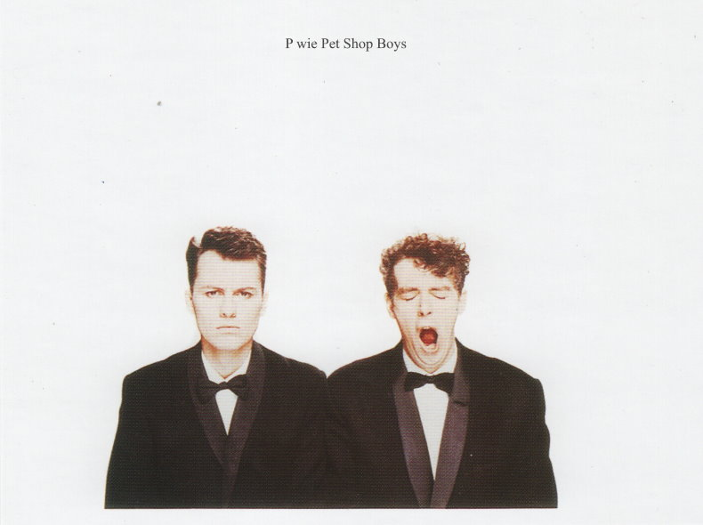 Blog Challenge, Pet Shop Boys